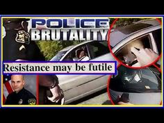 #WTF...COP TASERS - PEPPER SPRAYS - RUNS OVER  DYING MAN