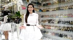 Jamie Chua closet is the example of the glitz and glamour. Jamie Chua the rich kid of Instagram has shown her new remodelled closet and it is luxurious.