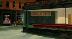 Closed (After Hopper's Nighthawks) — Andy Leipzig
