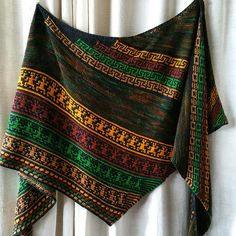 Ravelry: Walk like an Egyptian pattern by Ute Nawratil