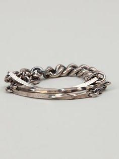 Tobias Wistisen chunky chain bracelet