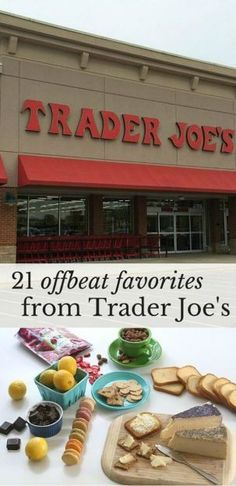 21 offbeat favorites to buy at Trader Joe's. The best products for the best $$$.