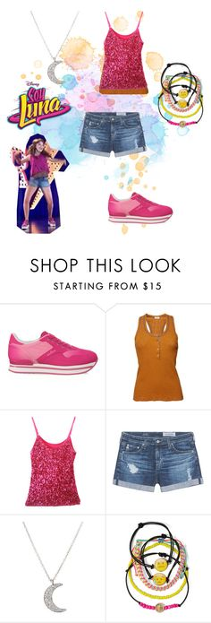 """soy luna"" by maria-look on Polyvore featuring Hogan, Etro, AG Adriano Goldschmied, Finn and Carole"