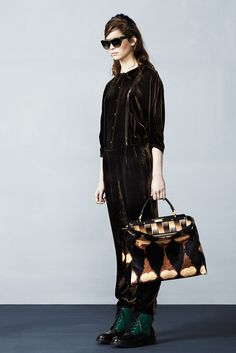 Fendi Pre-Fall 2012 Collection Slideshow on Style.com