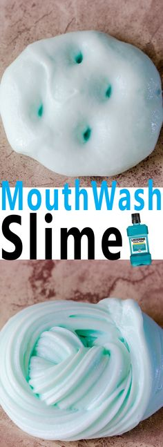 Simple Mouthwash Slime DIY is simple to make and only requires a few simple ingredients.. Smells just like mint and is super jiggly.