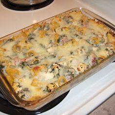 Chicken 'n' Spinach Pasta Bake Recipe - ZipList