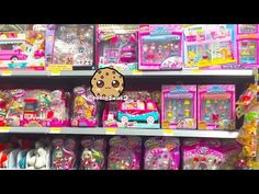 Toy Hunt Cookieswirlc Shops for Shopkins, Happy Places, My Little Pony, Barbie, Disney Dolls + More - YouTube
