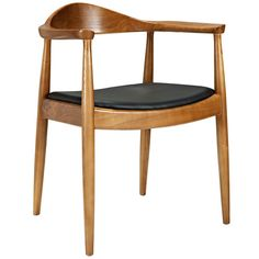 Tracy Wood Dining Arm Mid-century Style Chair