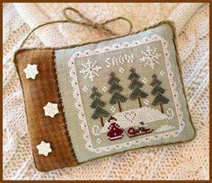 Snowy Winter - Cross Stitch Pattern