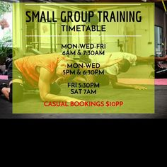 Small group training for all #fitness levels at #hpf