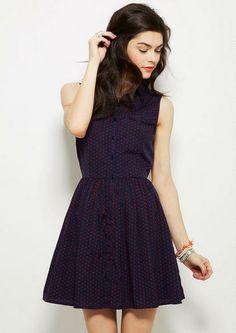 Printed Shirtdress - Skater - Dresses - Clothing - dELiA*s