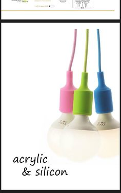 #acrylic #silicone #minimalDesign #Lamps