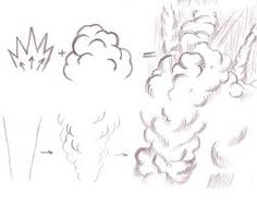 How to draw explosions neat art ideas pinterest for Things to practice drawing