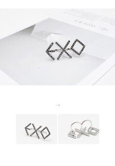 Made in Korea. Kaisoo, Exo Merch, Exo Korean, Band Merch, Kpop Outfits, Kpop Fashion, Cute Jewelry, Jewelery, Rings