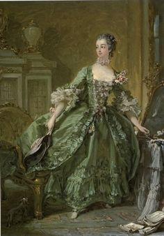 Madame de Pompadour by Boucher, 1750