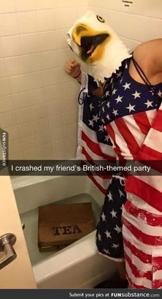 The best way to crash a party