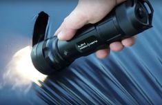 The FlashTorch Mini is an insanely powerful flashlight that can be used to start a fire or even cook breakfast. The light it emits is rated at 2300 lumens. Mini Flashlights, Melted Plastic, How To Cook Eggs, Lightsaber, Science And Technology, Real Life, Wicked, Fire, Canning