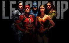 Télécharger fonds d'écran Wonder Woman, Batman, Cyborg, Flash, Aquaman, superheroe, Justice League en 2017 film