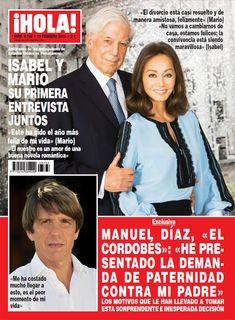 En ¡HOLA!: Isabel Preysler y Mario Vargas Llosa, su primera entrevista juntos