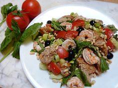 Tuscan Panzanella Salad (Tuscan Tomato and Bread Salad)