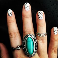 Boho hands Nails and jewelry
