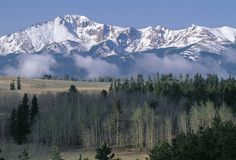 Pikes Peak, Colorado    (I lived and worked @ the Summit House  for a summer...)