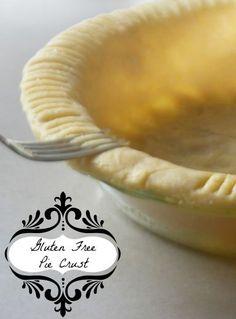The perfect Gluten Free Pie crust recipe.