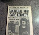 November 29 1963 DAILY NEWS JOHNSON PRESIDENT Jacqueline Kennedy Canaveral CAPE - http://oddauctions.net/historical-newspapers/november-29-1963-daily-news-johnson-president-jacqueline-kennedy-canaveral-cape/