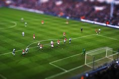 All sizes | Football Miniature Tottenham - Manchester United, via Flickr.