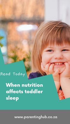 We don't often relate bad eating to bad sleeping when it comes to toddlers (12 – 36 months). This is a considered a baby issue, yet it can have a major impact toddlers, and can often lead to very bad habits that are difficult to change.