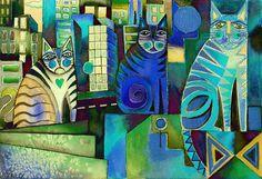 City Cats manip by karincharlotte.deviantart.com on @deviantART
