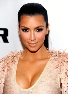 Kim Kardashian gets a spray tan every tan days for this gorgeous bronzed glow!