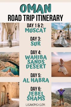 The Best Places to Visit in Oman on a Road Trip - - My time in the middle east did not end with Dubai and Egypt. After Egypt, I boarded a flight to Muscat to meet some friends. There we began a week-long Oman road trip exploring the…. Iran Travel, Asia Travel, Solo Travel, Middle East Destinations, Travel Destinations, Best Places To Travel, Cool Places To Visit, Visit Dubai, Travel