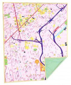 Map mat