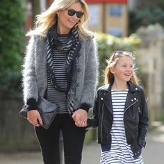 Kate Moss and Her Daughter Do Mummy-and-Me Style, the London Way – Vogue