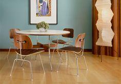 Eames dining set