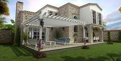 Modern taş evler (1) - Doğal taşlar, doğal taş evler ve doğal taş ocakları