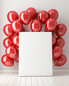 mock up poster in interior background with red balloons, illustration Happy Birthday Frame, Birthday Wishes Cake, Happy Birthday Wallpaper, Birthday Wishes And Images, Happy Birthday Photos, Birthday Frames, Happy Birthday Greetings, Birthday Photo Frame, Balloon Background