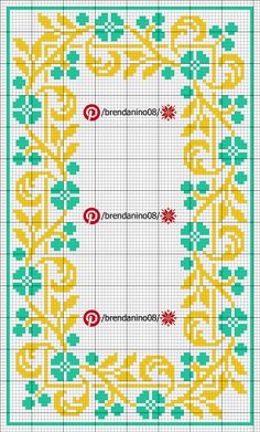 Cross Stitch Borders, Cross Stitch Rose, Floral Tablecloth, Le Point, Diy And Crafts, Kids Rugs, Embroidery, Quilts, Sewing