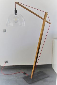 """The preamble"" floor lamp – no shipping, delivered by hand only (Lille) Paper Floor Lamp, Diy Floor Lamp, Wooden Floor Lamps, Wooden Lamp, Wood Shop Projects, Diy Furniture Projects, Plywood Furniture, Modern Furniture, Furniture Design"