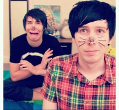 Dan Howell and Phil Lester <3
