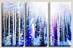 TITLE: 6 Feet off the Ground Power Mountain, Utah  Angelic trees & white snow in the mountains of Utah. ✦ GALLERY WRAPPED CANVAS are quality and sharp prints on canvas, sealed with a UV coating to enhance and protect the archival pigment inks, and completed by traditionally stretched wrapping around a 1.25 wooden frame. READY TO HANG. Hang this 1-2 apart. ✦ GICLEE, MUSEUM QUALITY PRINTS, come with 1.5 frame and are an extra $75. Contact me for if you are interested. Questions? Want a…