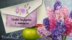 meninové priania Magdalena, Name Day, Congratulations, Tableware, Dinnerware, Saint Name Day, Tablewares, Dishes, Place Settings