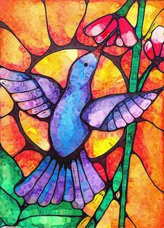 Hummingbird by Robin Mead | ArtWanted.mobi