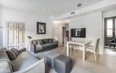 BRANDO concept    solo 66 mq small space piccolo appartamento salotto open space single house