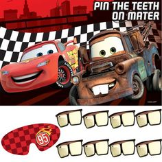 Pin the teeth on mater...love it!!