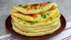 Cele mai pufoase plăcinte umplute cu brânză! Se fac rapid în tigaie, atât doar că dispar repede! - YouTube Breakfast Recipes, Dessert Recipes, Good Food, Yummy Food, Bread And Pastries, Healthy Eating Recipes, Empanadas, Cheese Recipes, Food Dishes