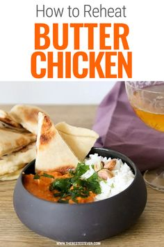 Want to know how to reheat butter chicken? This short guide will show you how to properly warm up this popular Indian dish. Is this microwave, oven or stove top the best options to use reheating butter chicken? We will let you know. #butterchicken #reheat #reheatfood Indian Dishes, Butter Chicken, Sweet Treats, Oven, Favorite Recipes, Ethnic Recipes, Food, Sweets, Ovens