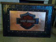 Harley plaque