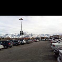 The Utah mountains